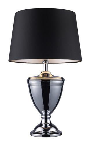 Chrome | Shade | Table | Black | Lamp