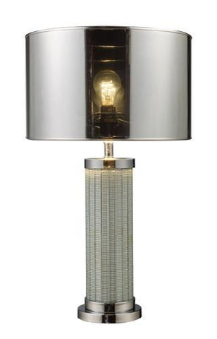 Dimond D1596 Mont Alto Table Lamp In Chrome And Mirror With Chrome Shade - PeazzLighting