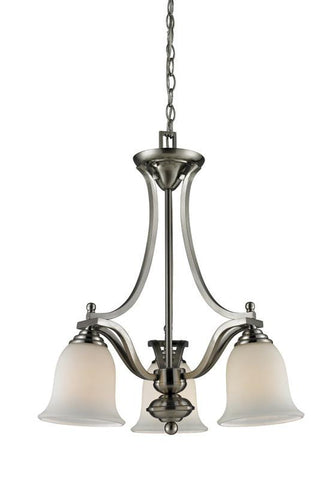 Z-Lite 704-3-bn Lagoon Collection 3 Light Chandelier - ZLiteStore