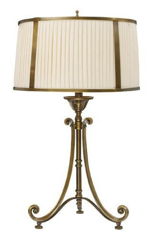 Dimond 11052/1 Williamsport Table Lamp In Vintage Brass Patina - PeazzLighting