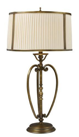Dimond 11053/1 Williamsport Table Lamp In Vintage Brass Patina - PeazzLighting