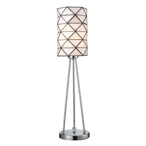 Dimond 72028-1 Tetra 1-Light Accent Lamp In Polished Chrome - PeazzLighting