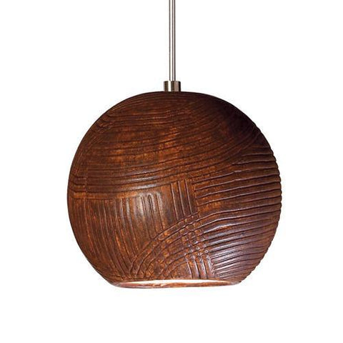 A19 LVMP01-BT Twine Mini Pendant Butternut - PeazzLighting