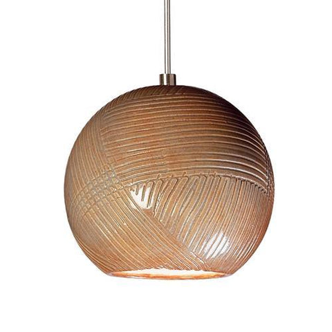 A19 LVMP01-SP Twine Mini Pendant Spice - PeazzLighting