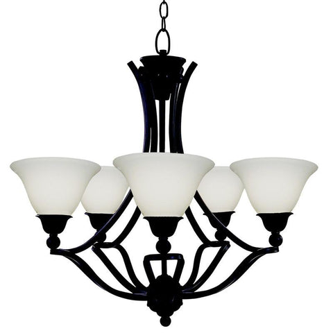 Z-Lite 318-5 Carlisle Collection 5 Light Chandelier - ZLiteStore