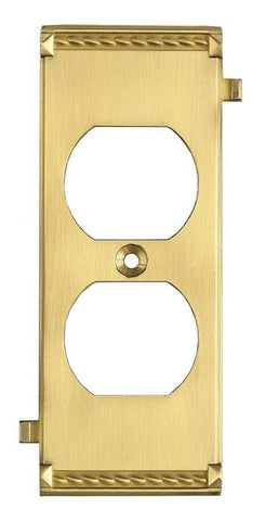 ELK Lighting Clickplates Brass Middle Switch Plate - 2503BR - PeazzLighting