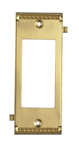 ELK Lighting Clickplates Brass Middle Switch Plate - 2505BR - PeazzLighting