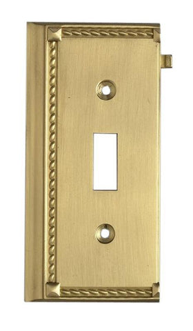 ELK Lighting Clickplates Brass End Switch Plate - 2507BR - PeazzLighting