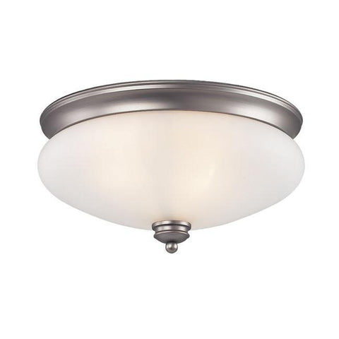 Z-Lite Hollywood Collection Antique Pewter Finish 3 Light Flush Mount - ZLiteStore