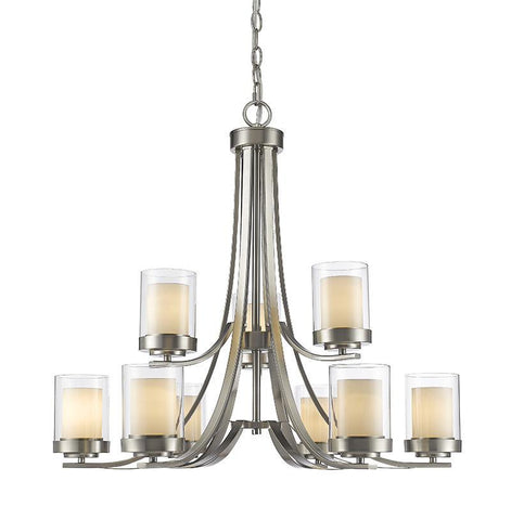 Z-Lite 426-9-BN 9 Light Chandelier - ZLiteStore
