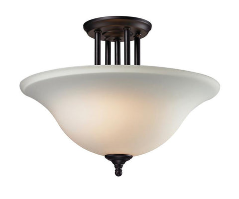 Z-Lite 2118sf Athena Collection 3 Light Semi-Flush Mount - ZLiteStore
