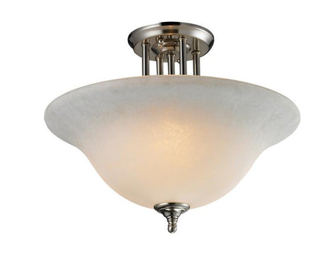 Z-Lite 2111sf Athena Collection 3 Light Semi-Flush Mount - ZLiteStore