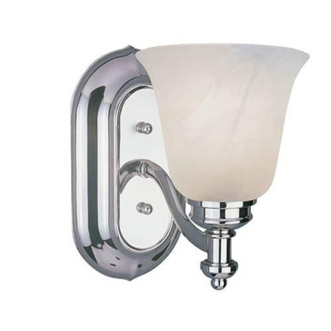 Z-Lite Hollywood Collection Chrome Finish One Light Vanity - ZLiteStore