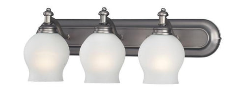 Z-Lite Hollywood Collection Antique Pewter Finish 3 Light Vanity - ZLiteStore