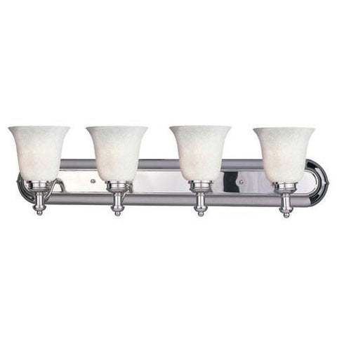 Z-Lite Hollywood Collection Chrome Finish Four Lights Vanity - ZLiteStore