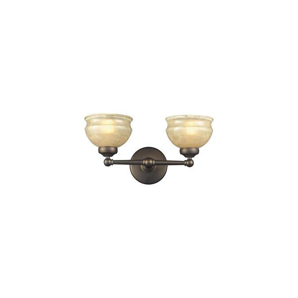 Z-Lite Stershire Collection Olde Bronze Finish Two Lights Vanity