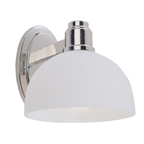 Z-Lite Chelsey Collection Chrome Finish One Light Wall Sconce - ZLiteStore