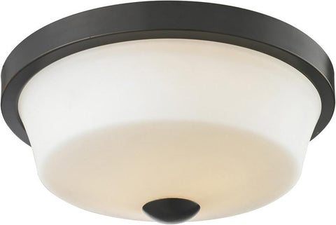 Z-Lite 411F2 2 Light Flush Mount - ZLiteStore