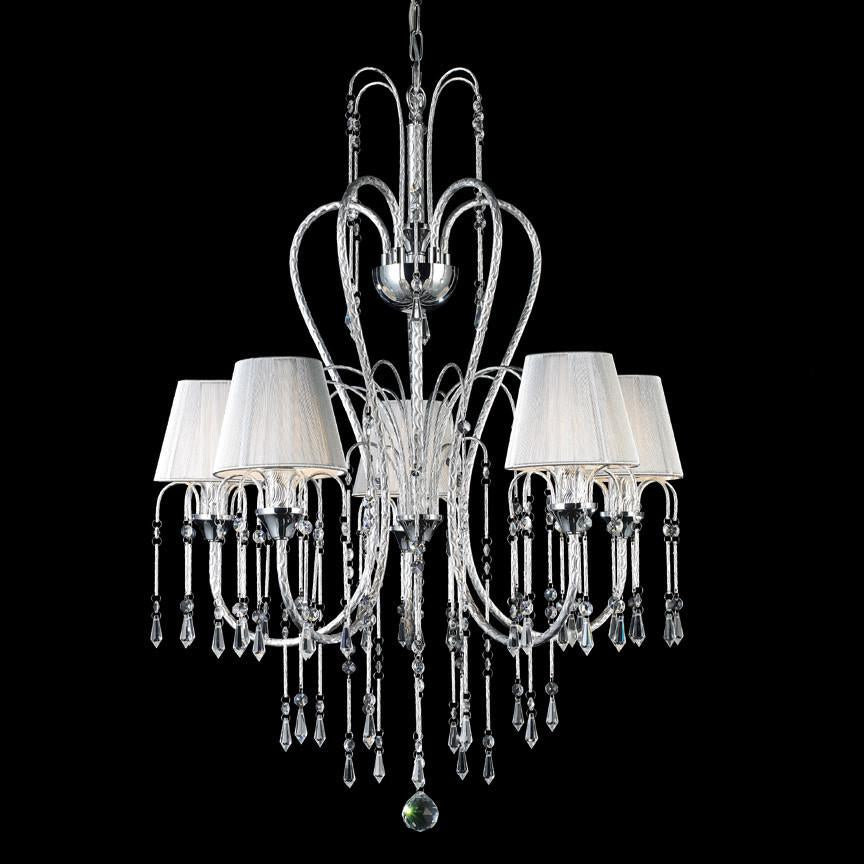 Chandelier | Collection | Crystal | Chrome | Finish | Light