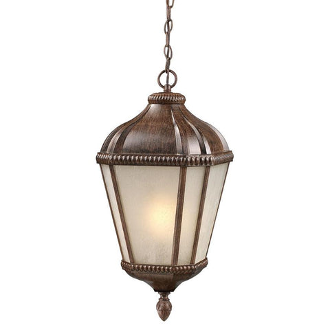 Z Lite Waverly Collection Weathered Bronze Finish Outdoor Chain Light - ZLiteStore