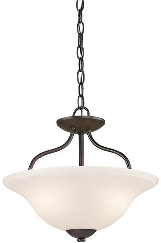 Cornerstone 1252CS/10 Conway 2 Light Semi-Flush In Oil Rubbed Bronze - PeazzLighting