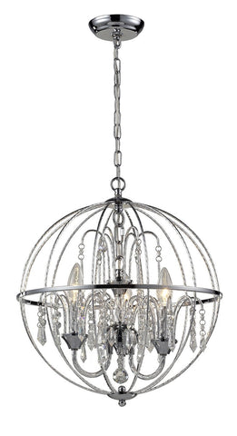 Z-Lite 895CH 3 Light Crystal Pendant - ZLiteStore