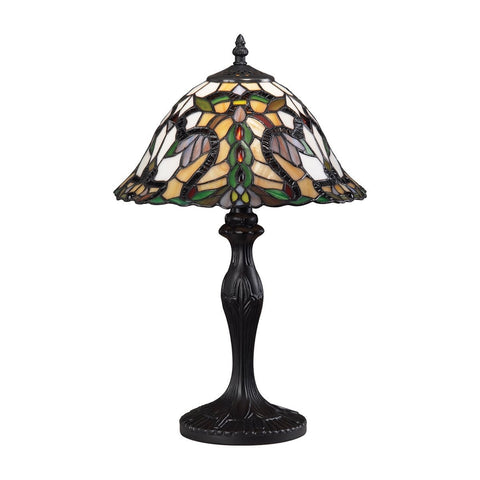 Z-Lite Accent Tiffany Lamp Bronze 1 Light Table Lamp G12-3312 - ZLiteStore