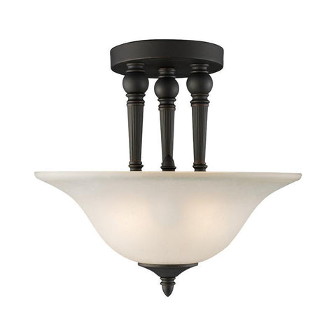 Z-Lite 904SF 2 Light Semi-Flush Mount - ZLiteStore