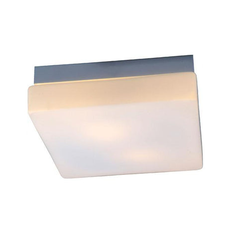Bromi Design B5601 Lynch Square White Drum Pendant - PeazzLighting