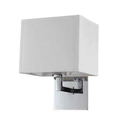 Bromi Design B5401C Prescott Single White Wall Scone - PeazzLighting