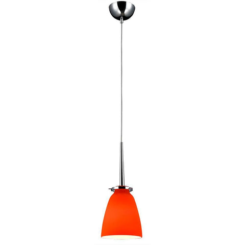 Bromi Design B3002O Belmont Orange Glass Mini Pendant - PeazzLighting