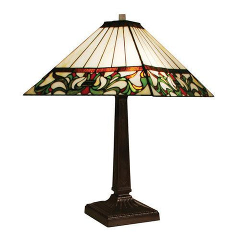 Z-Lite Viola Chestnut Bronze 1 Light Table Lamp Z14-8-8TL - ZLiteStore