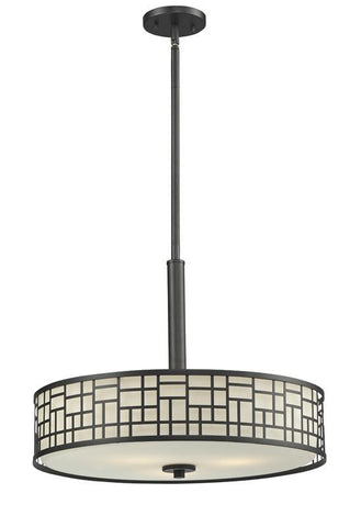 Z-Lite 329P-BRZ 3 Light Pendant - ZLiteStore