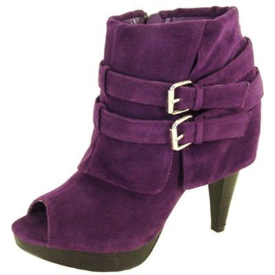 Finella-329 Faux Suede Women Ankle Boot - Peazz.com