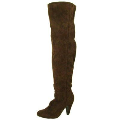 Method-01 Suede Slouchy Thigh High Boot - Peazz.com