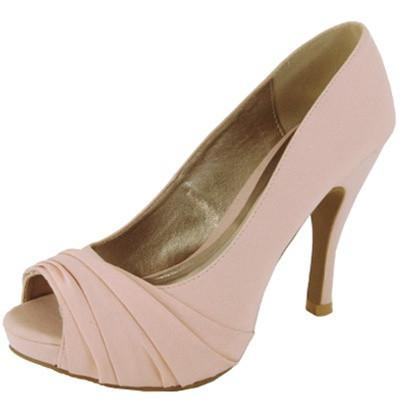 Trench-101 Pleated Peep Toe Pump - Peazz.com