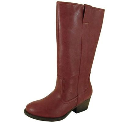 Trevor-02 Round Toe Knee High Boot - Peazz.com