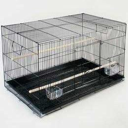 "F061 Keet Flight Cage 24"" 6cs - Peazz.com"