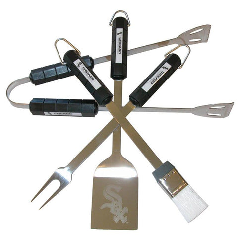 Chicago White Sox 4 Pc Bbq Set - Peazz.com