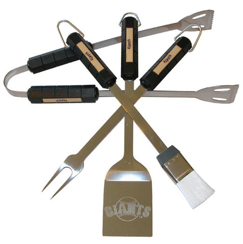 San Francisco Giants 4 Pc Bbq Set - Peazz.com