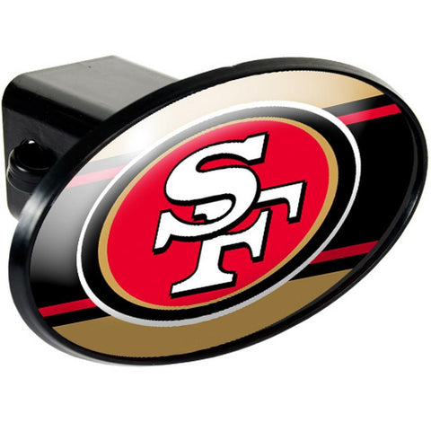 San Francisco 49Ers Trailer Hitch Cover - Peazz.com