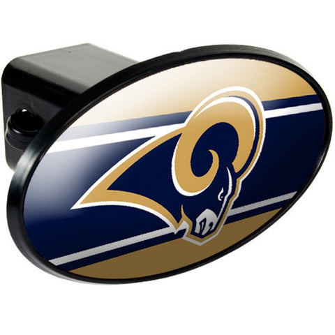 St. Louis Rams Trailer Hitch Cover - Peazz.com