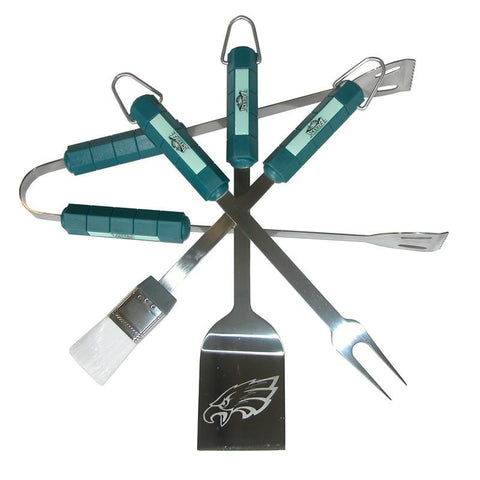 Philadelphia Eagles 4 Piece Bbq Set - Peazz.com