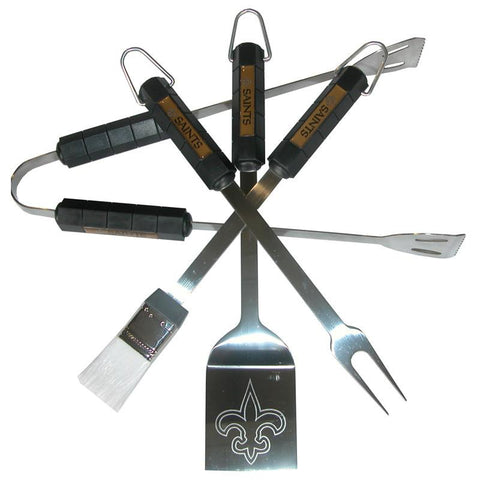 New Orleans Saints 4 Piece Bbq Set - Peazz.com