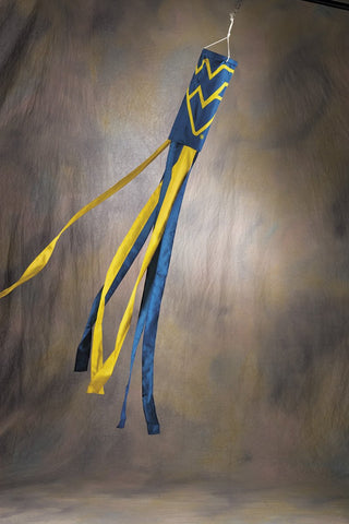 West Virginia Mountaineers Wind Sock - Peazz.com