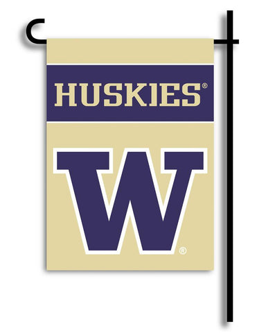 Washington Huskies 2-Sided Garden Flag - Peazz.com