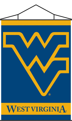 West Virginia Mountaineers Indoor Banner Scroll - Peazz.com