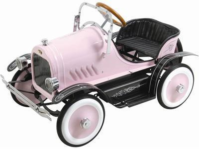 KALEE Deluxe Roadster Pedal Car Pink - Peazz.com