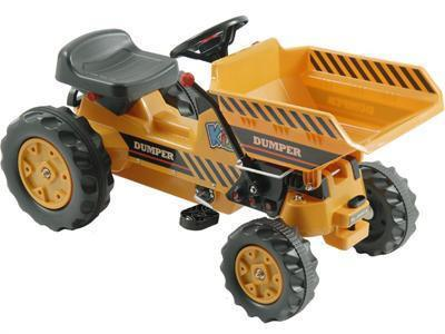 KALEE Dump Tractor Pedal Yellow - Peazz.com