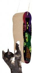 Imperial Cat Holiday Scratch 'n Shapes Frankenstein Scratcher - Peazz.com